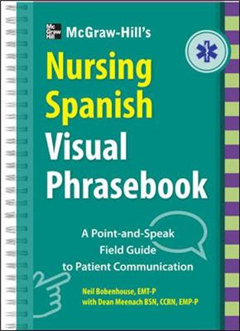 McGraw-Hill Education's Nursing Spanish Visual Phrasebook
