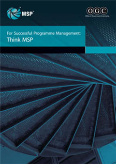 For Successful Programme Management: Think MSP
