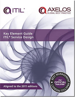 Key element guide ITIL service design [pack of 10]
