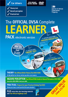 Official DVSA Complete Learner Driver Pack - Electronic Vers