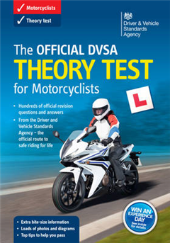 official DVSA theory test for motorcyclists �virtual pack]