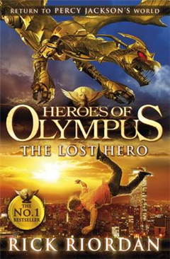Lost Hero Heroes of Olympus Book 1