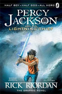 Percy Jackson and the Lightning Thief: The Graphic Novel (Bo