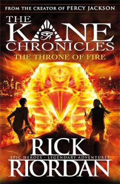 Throne of Fire The Kane Chronicles Book 2