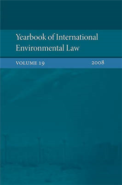 Yearbook of International Environmental Law: 2008
