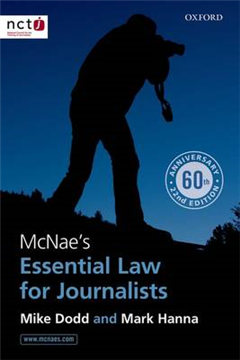 McNae\'s Essential Law for Journalists