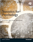 Statistics for Psychology: International Edition