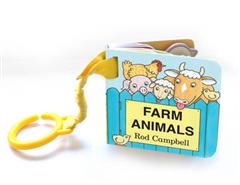 Farm Animals Shaped Buggy Book