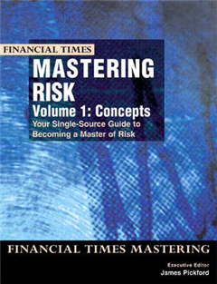 Mastering Risk Volume 1: Concepts