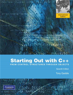 Starting Out with C++: From Control Structures to Objects with MyProgrammingLab: International Edition