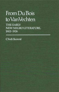 From Du Bois to Van Vechten