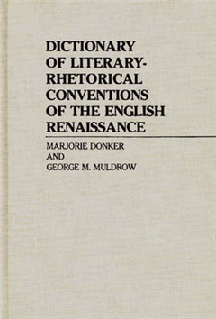 Dictionary of Literary-Rhetorical Conventions of the English
