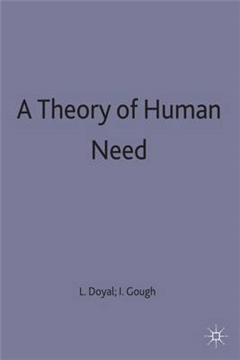 A Theory of Human Need