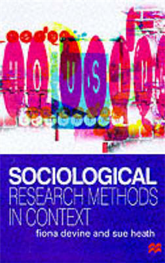 Sociological Research Methods in Context