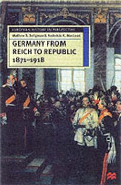 Germany from Reich to Republic, 1871-1918: Politics, Hierarchy and Elites