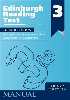 Edinburgh Reading Test (ERT) 3 Manual: A Series of Diagnostic Teaching Aids