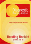 Diagnostic Reading Analysis: Reading Booklet (forms A&B)