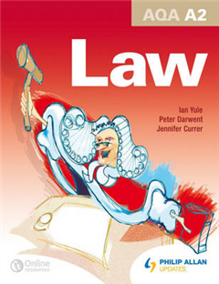 AQA A2 Law: Textbook