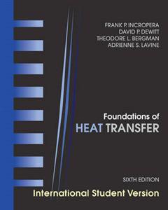 Foundations of Heat Transfer