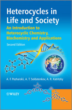 Heterocycles in Life and Society: An Introduction to Heterocyclic Chemistry, Biochemistry and Applications