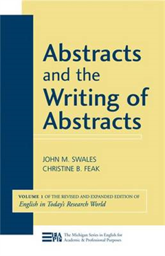 Abstracts and the Writing of Abstracts: v. 1