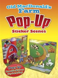Old MacDonald\'s Farm PopUp Sticker Scenes