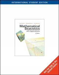 Mathematical Statistics with Applications, International Edi