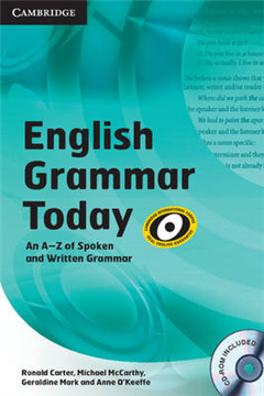 English Grammar Today Book with CD-ROM and Workbook: An A-Z of Spoken and Written Grammar