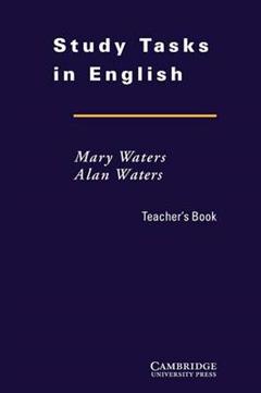 Study Tasks in English Teacher\'s Book