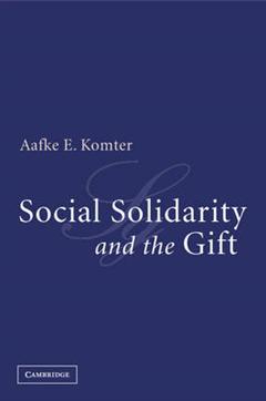 Social Solidarity and the Gift