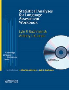 Statistical Analyses for Language Assessment Workbook and CD ROM