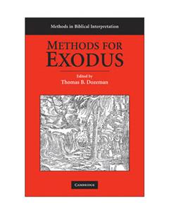 Methods for Exodus