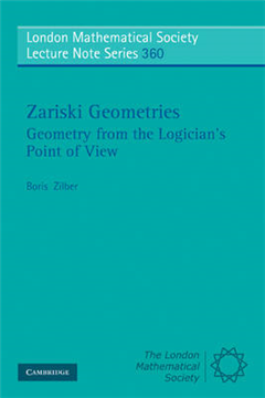 Zariski Geometries: Geometry from the Logician\'s Point of View