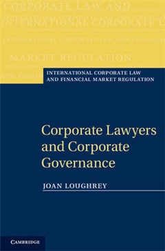 Corporate Lawyers and Corporate Governance