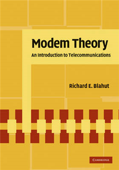 Modem Theory: An Introduction to Telecommunications