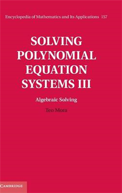 Encyclopedia of Mathematics and its Applications Solving Pol