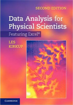 Data Analysis for Physical Scientists: Featuring Excel (R)