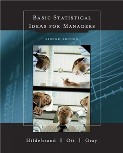 Basic Statistical Ideas for Managers (with CD-ROM)
