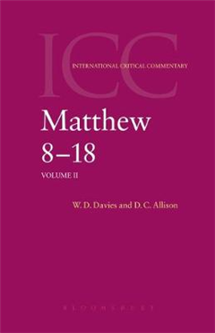 Matthew 8-18: A Commentary