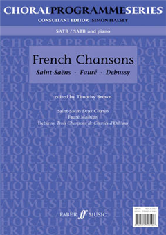 French Chansons: SATB Accompanied