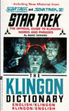 Klingon Dictionary: English/Klingon, Klingon/English