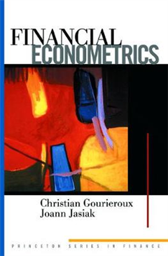 Financial Econometrics: Problems, Models, and Methods