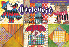 Songbooks - Harlequin (Book + CD): 44 Songs round the year