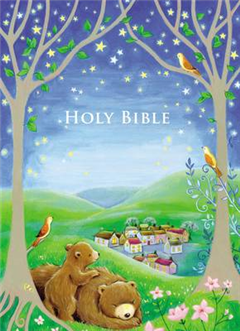 ICB, Sparkly Bedtime Holy Bible, Hardcover
