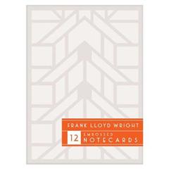 Frank Lloyd Wright Designs Embossed Notecard Set