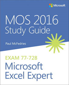 MOS 2016 Study Guide for Microsoft Excel Expert