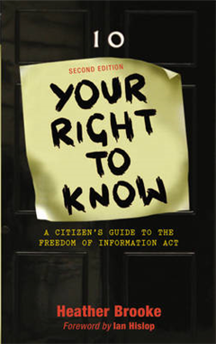 Your Right to Know: A Citizen\'s Guide to the Freedom of Information Act