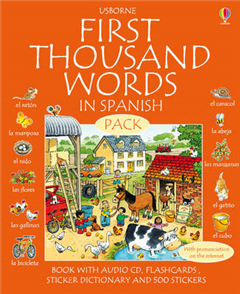 First 1000 Words Pack - Spanish