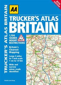 AA Trucker's Atlas Britain