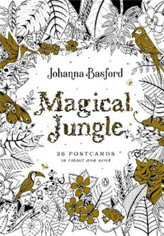Magical Jungle: 36 Postcards to Colour and Send